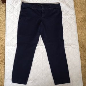 Denim Ankle trousers